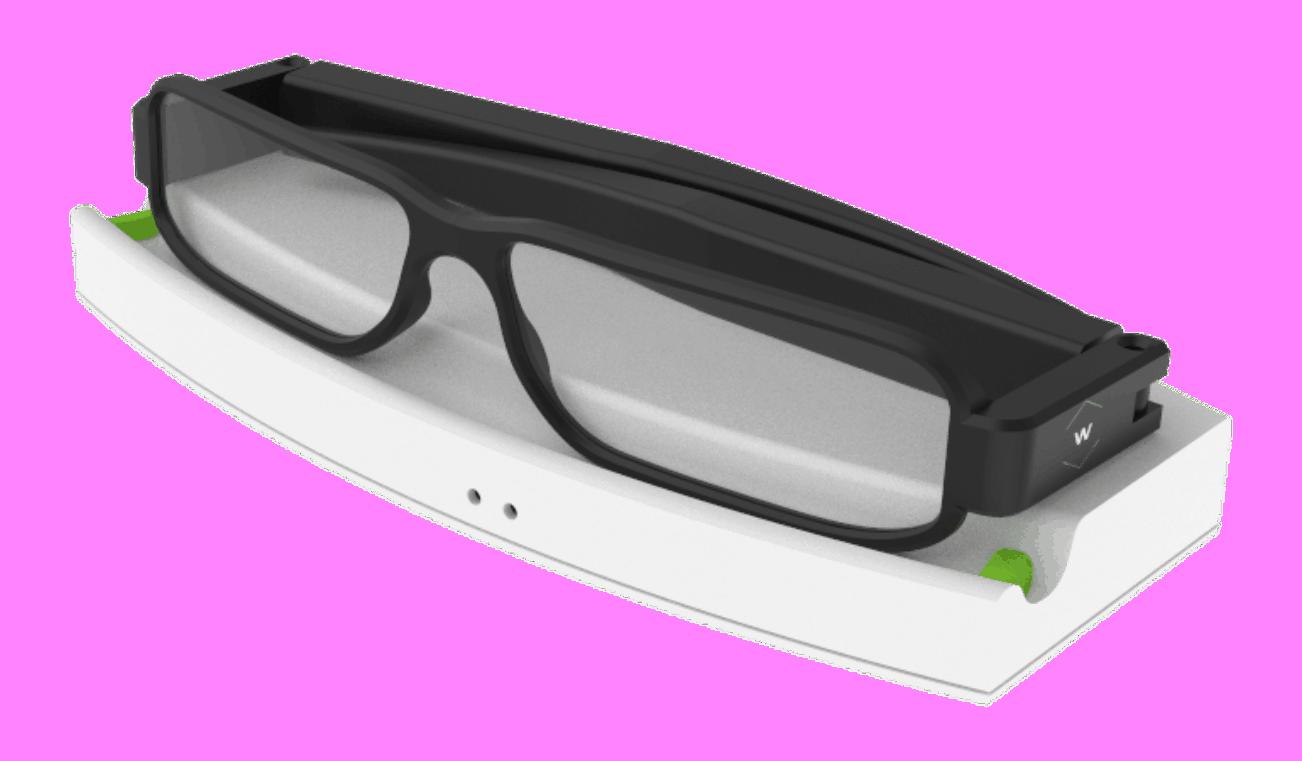 Energous wattup® smartglasses dev kit